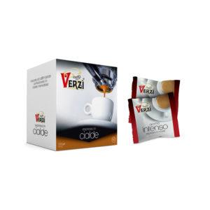 Confezione da 150 cialde carta filtro - aroma intenso Caffè Verzì.