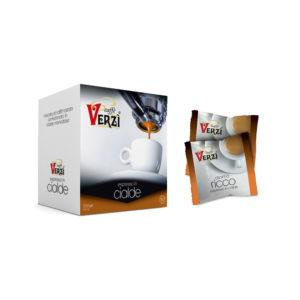 Confezione da 150 cialde carta filtro - aroma ricco Caffè Verzì.