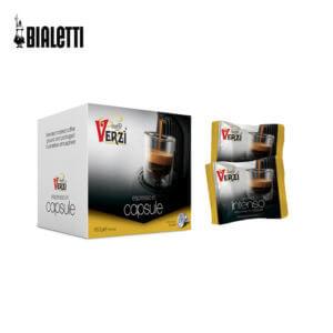 Confezione da 100 o 200 capsule compatibili bialetti caffè verzì