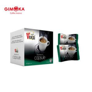 Confezione da 100 o 200 capsule domo gimoka kelly aroma intenso Caffe verzì