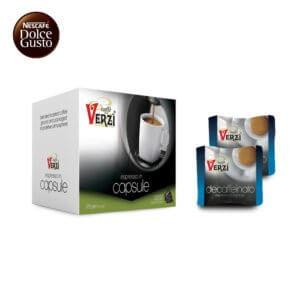 Confezione da 100 capsule nescafè dolce gusto decaffeinato Caffe verzì