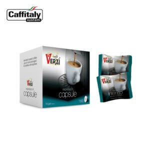 Confezione da 160 o 240 capsule caffitaly aroma intenso Caffe verzì