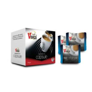 Confezione da 200 capsule espresso point - decaffeinato Caffè Verzì.