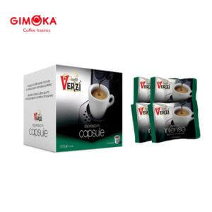 Confezione da 300 capsule domo gimoka kelly aroma intenso Caffe verzì