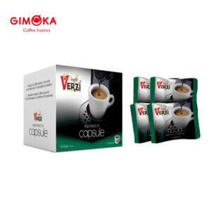 Confezione da 300 capsule domo gimoka kelly aroma ricco Caffe verzì