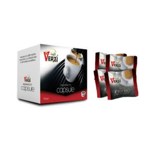 Confezione da 300 capsule espresso point - aroma intenso Caffè Verzì.