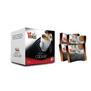 Confezione da 300 capsule espresso point - aroma ricco Caffè Verzì.