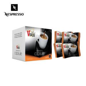 Confezione da 300 capsule nespresso aroma ricco Caffe verzì