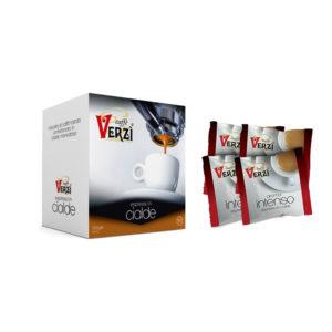 Confezione da 300 cialde carta filtro - aroma intenso Caffè Verzì.