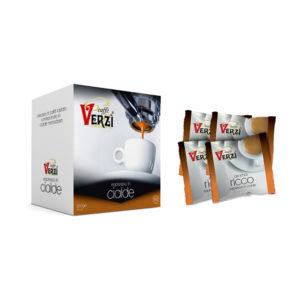 Confezione da 300 cialde carta filtro - aroma ricco Caffè Verzì.