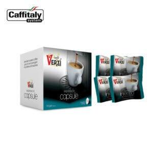 Confezione da 320 capsule caffitaly aroma intenso Caffe verzì