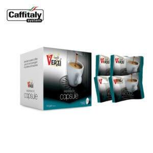 Confezione da 320 capsule caffitaly aroma ricco Caffe verzì