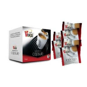 Confezione da 400 capsule espresso point - aroma intenso Caffè Verzì.