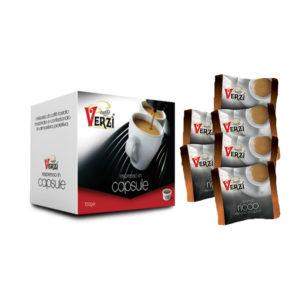 Confezione da 400 capsule espresso point - aroma ricco Caffè Verzì.