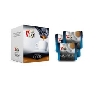 Confezione da 400 cialde carta filtro decaffeinato Caffe verzì