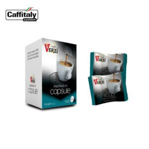 Confezione da 50 capsule caffitaly aroma ricco Caffe verzì
