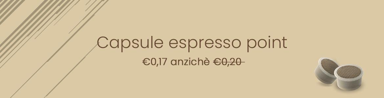 Capsule espresso point caffè verzì