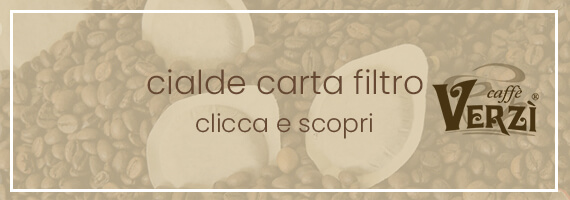Cialde carta filtro caffè verzì